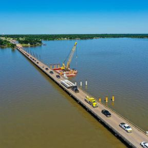 HWY 334 Bridge Construction Photography by Sky Guys