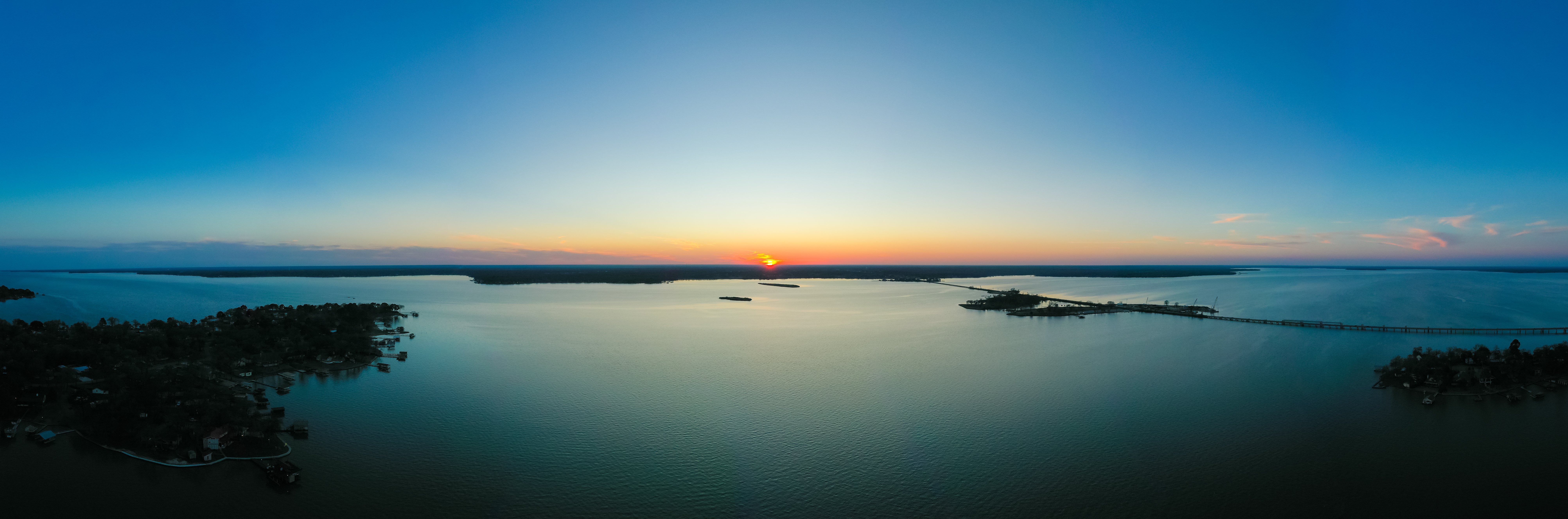 Aerial Real Estate Photography Cedar Creek Lake